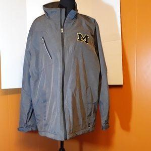 University of Michigan waterproof jacket